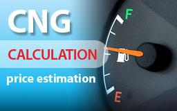 CNG Calculation - Price Estimation